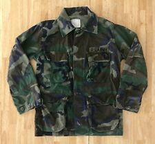 BDU US Army Military Uniform Shirt Woodland Camouflage Camo Men's Small