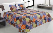 Zweiseitige Tagesdecke Bettüberwurf Steppdecke 3Tlg.180x220 Tavira 004