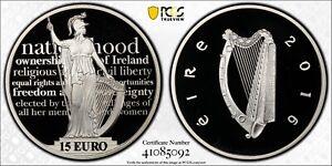 Ireland 2016 Silver Proof €15 Proclamation of the Irish Republic PCGS PR70DCAM