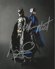 MICHAEL KEATON ADAM WEST REPRINT AUTOGRAPHED 8X10 SIGNED PICTURE PHOTO BATMAN RP
