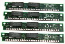 4MB RAM Memory kit for Apple Macintosh Plus, SE. 4x 1MB 30-pin SIMM non-parity