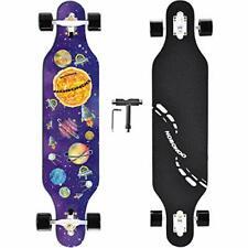 NOBONDO 41 Inch Longboard Skateboard - Canadian Maple Complete Long Board Skateb
