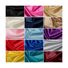 Plain Habotai Silk Lining Fabric Polyester Material Dress Lining Dressmaking