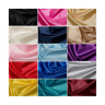 Plain Habotai Silk Lining Fabric 100% Polyester Material Dress Lining