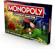 🔥 Hasbro Monopoly LONGEST Game Ever (Amazon Exclusive)  Board Game FREE SHIP 🔥