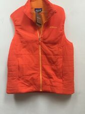 NWT Patagonia Mens Nano-Air Vest Campfire Orange XL, List $199
