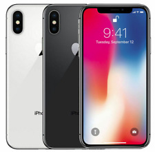 Apple iPhone X 64GB 256GB Factory Unlocked or AT&T, Sprint, T-Mobile, Verizon