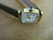 #217 ladys gold filled BULOVA ACCUTRON watch