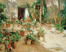 Courtyard eliseu meifren patio interior macetas de plantas de jardín verano B a3 01654
