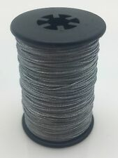 Silver BCY 3D Serving Thread.017 120 Yard Jig Spool Bow String End Serving