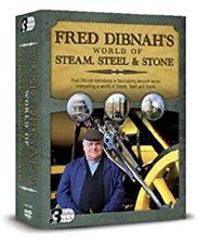 Fred Dibnahs World Of Steam, Steel & Stone Box Set  DVD