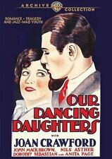 OUR DANCING DAUGHTERS (1928 Joan Crawford) -  Region Free DVD - Sealed