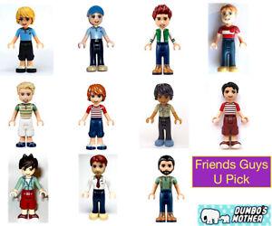 Lego Friends Minifigures Male Dad Son Boy Matthew Henry Heartlake Hospital NEW