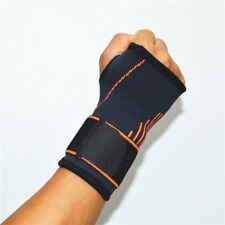 Wrist Support Brace Palm Weight Lifting Strap Carpal Tunnel Sport Hand Bandage