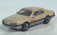 Matchbox Ford T-Bird Turbo Coupe Thunderbird 1987 1988 1:67 Scale Model Toy Car