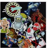 23 pcs.Futurama Stickers sticker waterproof graffiti Decal