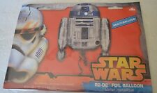 """R2D2 Star Wars Force Awakens Birthday Party Supershape Foil Balloon 26"""""""