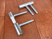 Einbohrband Einbohrbänder Wartungsfrei Türband Türbänder Verzinkt