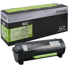 1 x Lexmark 602 Black Original OEM Toner Cartridge MX310, MX410, MX511, MX611