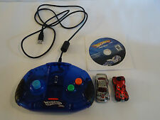 Hot Wheels Turbo Driver Car Racing Computer PC Video Game 2 Lot Works