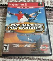 TONY HAWK'S PRO SKATER 3 - PLAYSTATION 2 PS2 GAME - COMPLETE IN BOX