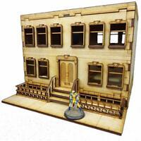 TTCombat - City Scenics - DCS007 - Apartment A, great for Batman
