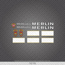 01218 Merlin Racing Cycles Bicycle Stickers - Decals - Transfers