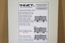 GERARD HUET TRAINS A670N HO SCALE BRASS SNCF PRIEUR BIER WAGEN BEER WAGON KIT ng