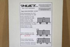 GERARD HUET TRAINS A670N HO SCALE BRASS SNCF PRIEUR BIER WAGEN BEER WAGON KIT ng