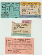 Rugby Union Tickets from 1980`s