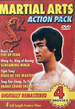 Martial Arts Action Pack (Dvd, 2-Disc Set) New