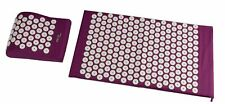Pro Acupressure Massage bed of nails Yoga Mat Pillow Relax Stress Pain Relief