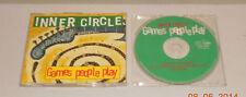 Single CD Inner Circle-Games People Play 4 tracks 1994 molto bene