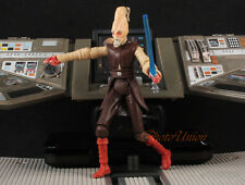 "Hasbro Star Wars 3.75"" Figure 1:18 Ki Adi Mundi Jedi Master Council Light S242"