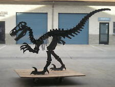 Dinosaur statue 7 feet long! Steel.