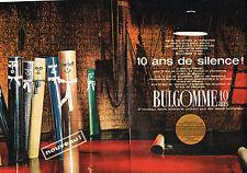 PUBLICITE ADVERTISING   1964   PENNEL & FLIPO   BULGOMME revetement sol ( 2 page