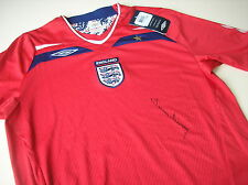 Sir Tom Finney HAND SIGNED Autograph England Shirt Memorabilia Preston + COA 5