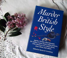 Murder British Style HC Book British Authors Short Stories Mysteries 529 pages