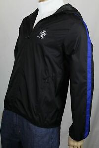 Ralph Lauren RLX Black Blue Jacket Windbreaker NWT $165