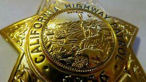 Movie Badge  CALIFORNIA  HIGHWAY PATROL Police Polizei CAHP Abzeichen Marke USA