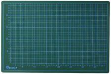 Ecobra 704530 - Base de corte con plantilla 45 x 30 cm , color verde/negro NUEVO