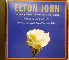 Elton John-Something About The Way You Look Tonight/Candle In The Wind 1997-CD