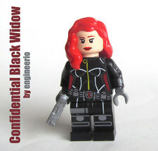 Lego Custom - Black Widow - Marvel Super heroes Avengers Confidential punisher
