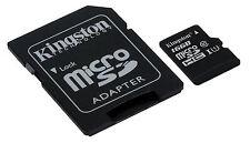 Kingston 16gb Class 10 MicroSD SDHC SDXC TF Flash Memory Card With Adapter C10