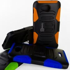 CoverON® For Kyocera Hydro Air / Hydro Wave Holster Case Hybrid Kickstand Cover