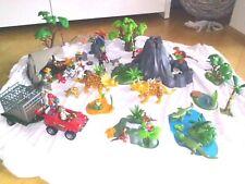 Playmobil, dinosaurios, volcán, investigadores, Camp, auto, konvulut, Set, Top