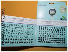 Playground Fonts Letters Number Scrapbook Memories Slice Design Card Craft