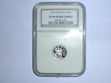1997-W American Eagle Platinum $10 Coin NGC PF 69 UC