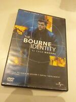 Dvd EL CASO BOURNE (THE BOURNE IDENTITY)CON MATT DAMON