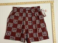 Hershey's Sleepwear Boxer Short - Hershey's Checked Print - Small - NWT